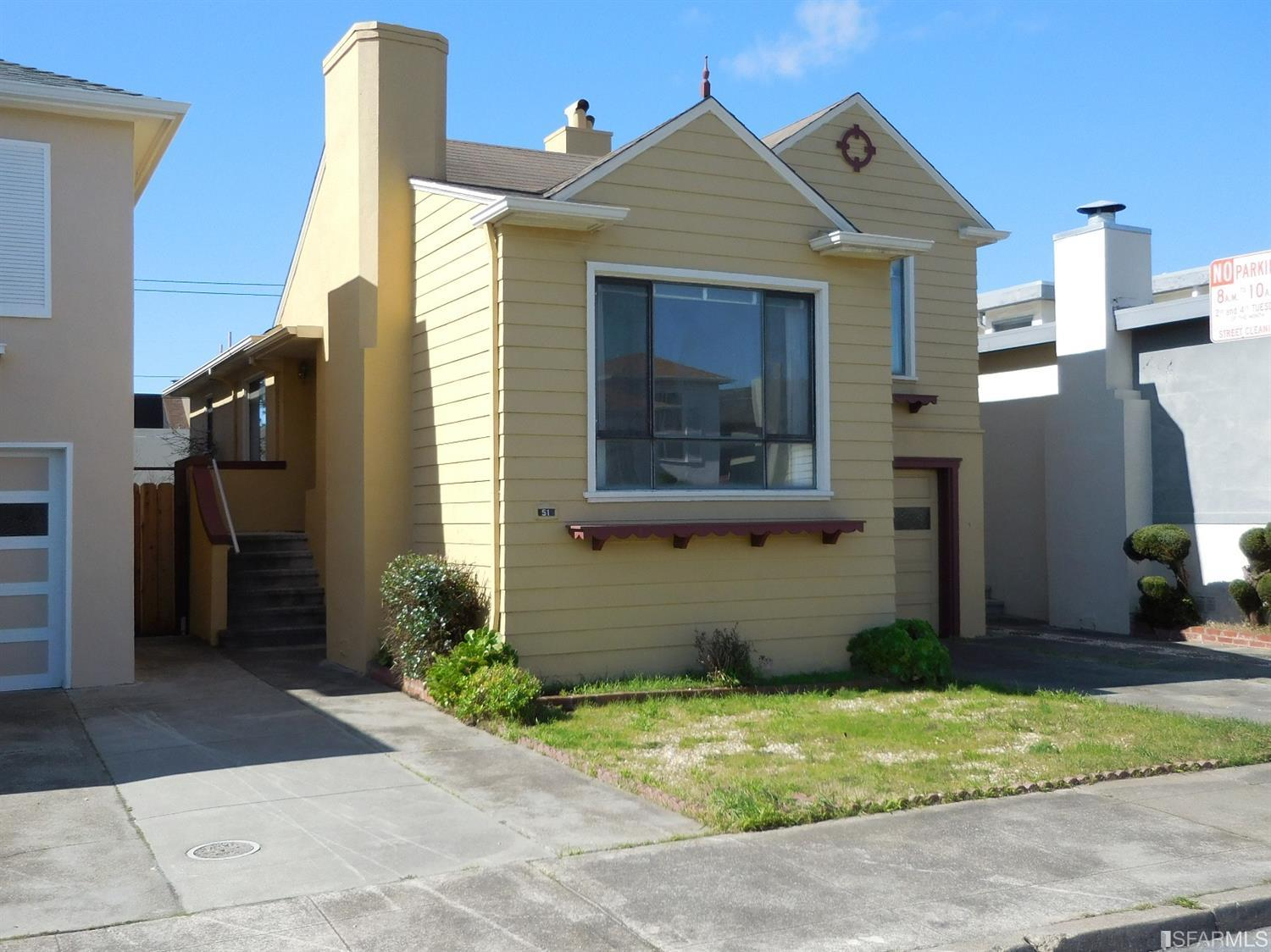 Other for Sale at 51 Springfield Drive SAN FRANCISCO, CALIFORNIA 94132