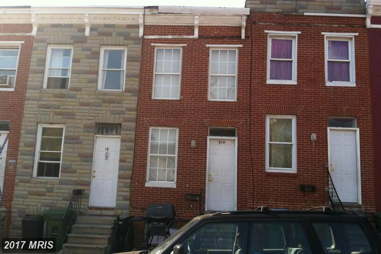 510 S Gilmor Street Baltimore Md 21223 Mls Ba9931143