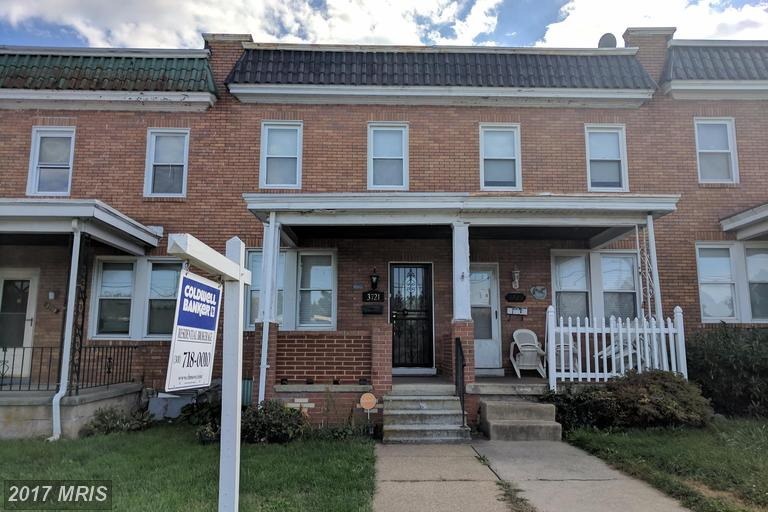 Condo / Townhouse for Sale at 3721 Wilkens Avenue Baltimore, Maryland 21229 United States
