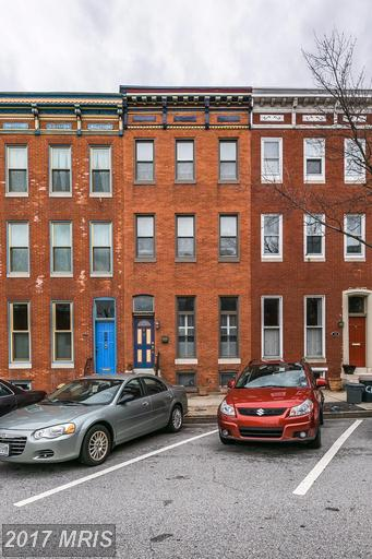 Condo / Townhouse for Rent at 16 Chester Street North Baltimore, Maryland 21231 United States