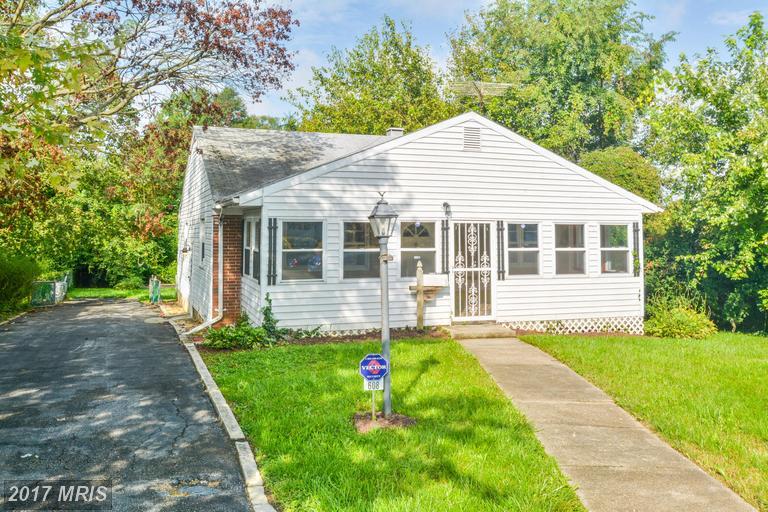 Single Family for Sale at 608 Washington Avenue Halethorpe, 21227 United States
