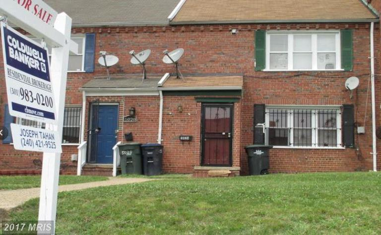 Condo / Townhouse for Sale at 5024 Jay Street Northeast Washington, District Of Columbia 20019 United States