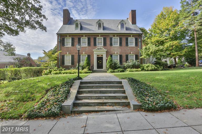 Single Family for Sale at 3532 Massachusetts Avenue Northwest Washington, District Of Columbia 20007 United States