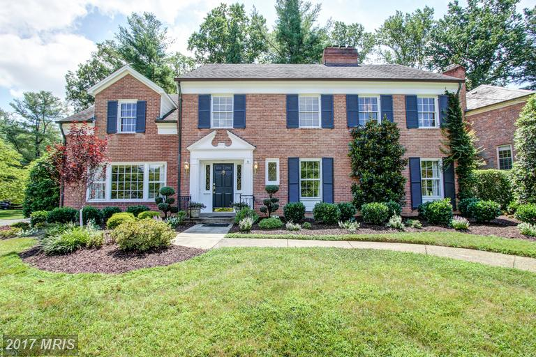 Single Family for Sale at 7209 Helmsdale Road Bethesda, Maryland 20817 United States