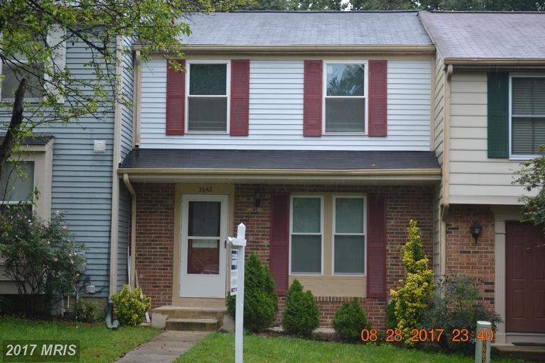 Condo / Townhouse for Sale at 3643 Autumn Glen Circle Burtonsville, 20866 United States