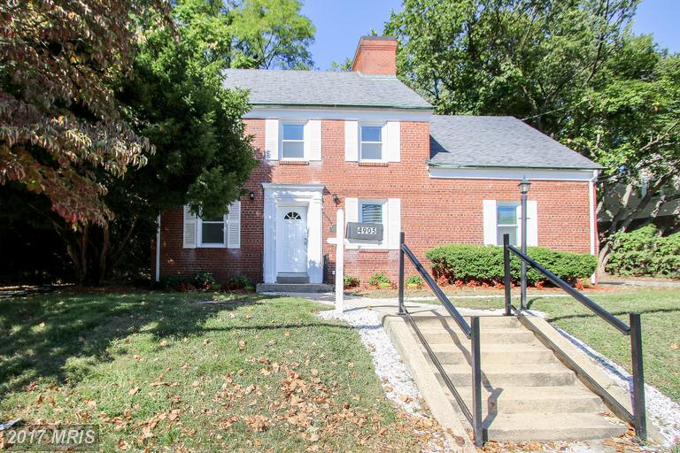 Single Family for Sale at 4905 Bradley Boulevard Chevy Chase, Maryland 20815 United States