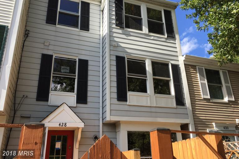 Condo / Townhouse for Sale at 428 Legato Terrace Silver Spring, Maryland 20901 United States