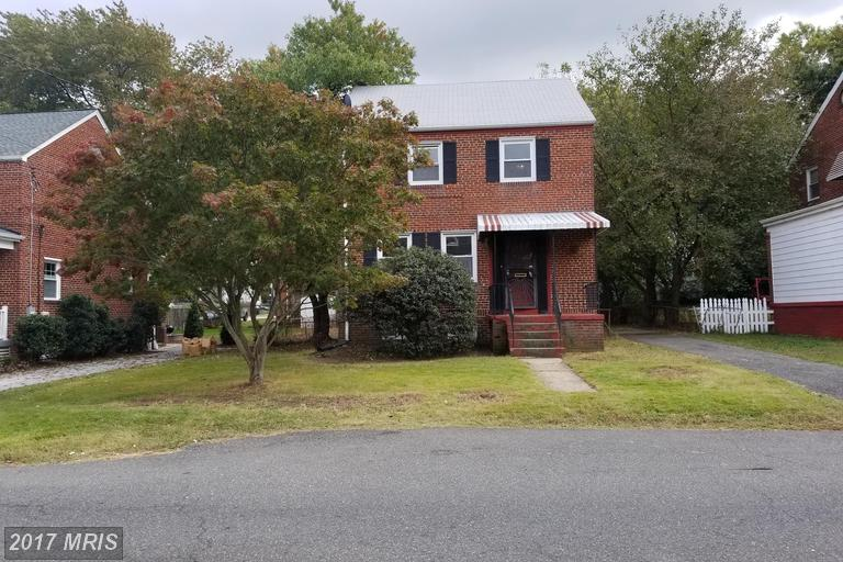 Single Family for Sale at 4841 Huron Avenue Suitland, Maryland 20746 United States