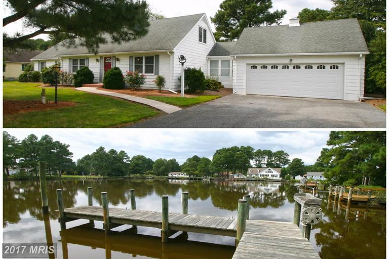 Single Family for Sale at 4940 Joshua Thomas Road Crisfield, Maryland 21817 United States