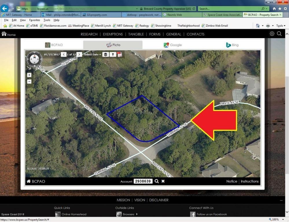 953 Teminal Corner Lot Street Palm Bay Fl 32909 Mls