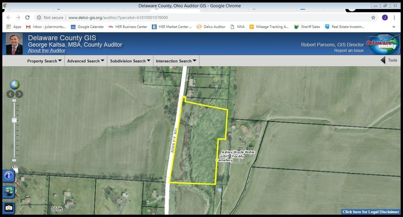 Ashley Ohio Map.8880 Ashley Rd Ashley Oh 43003 Mls 219004368 Coldwell Banker