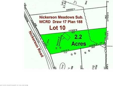 Lot 10 Nickerson Road - Photo 1