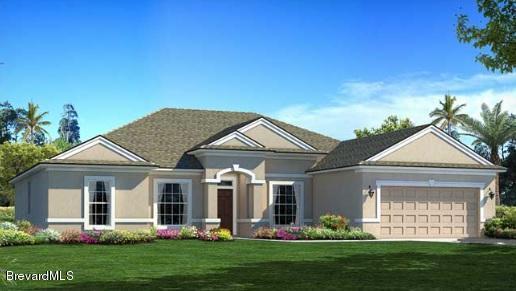 761 se montrose street palm bay fl 32909 mls 746681 for Holiday home builders floor plans