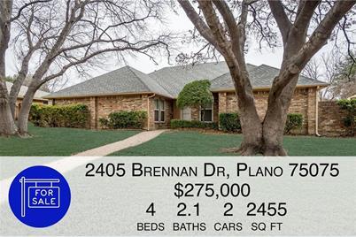 2405 Brennan Dr, Plano, TX 75075 - MLS 14014256 - Coldwell