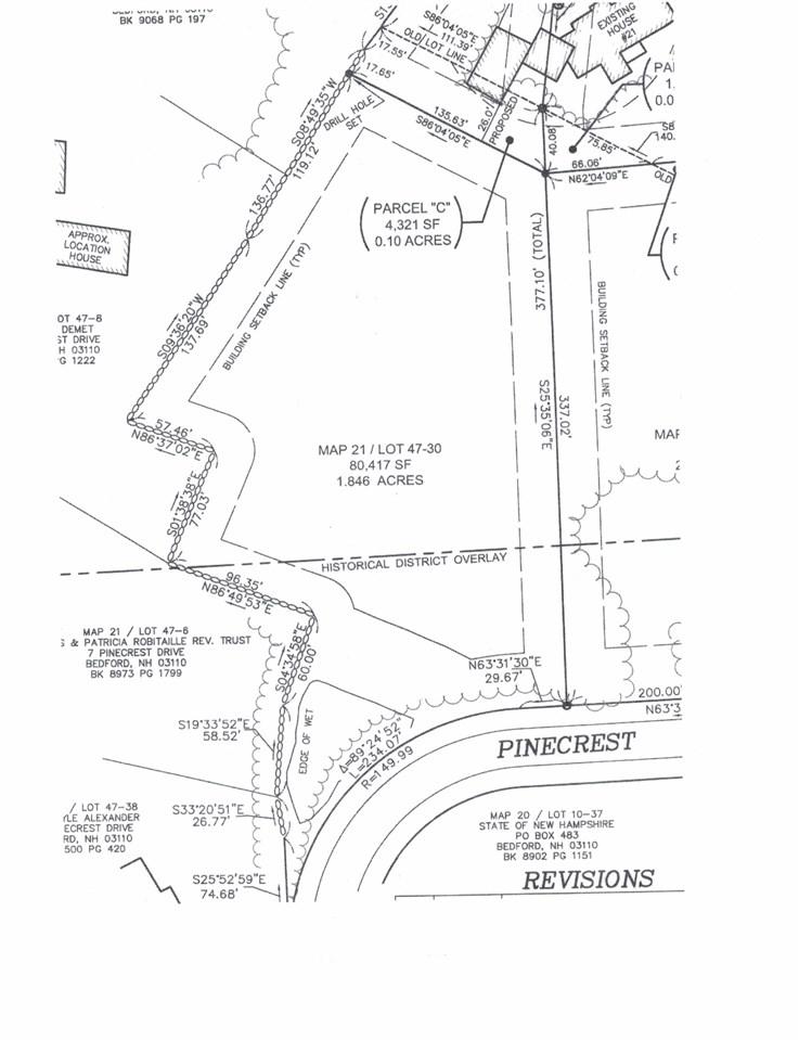 Pinecrest Dr Bedford Nh 03110