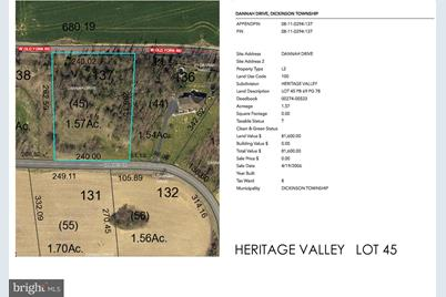 Heritage Valley - Dannah Drive #LOT 45 - Photo 1