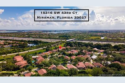 15316 SW 43rd Ct, Miramar, FL 33027 - MLS A11076110 - Coldwell Banker